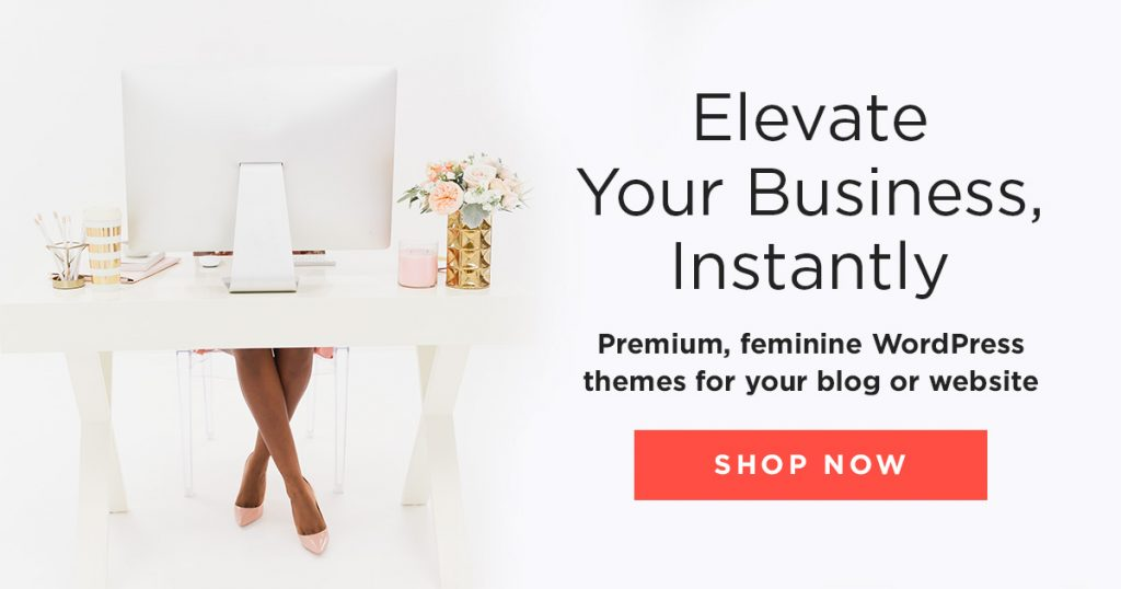 Bluchic Theme for Business