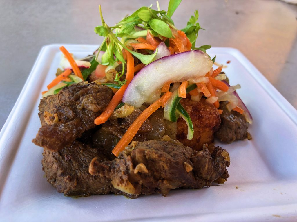 EPCOT Food and Wine Festival - Kenyan Coffee BBQ Beef