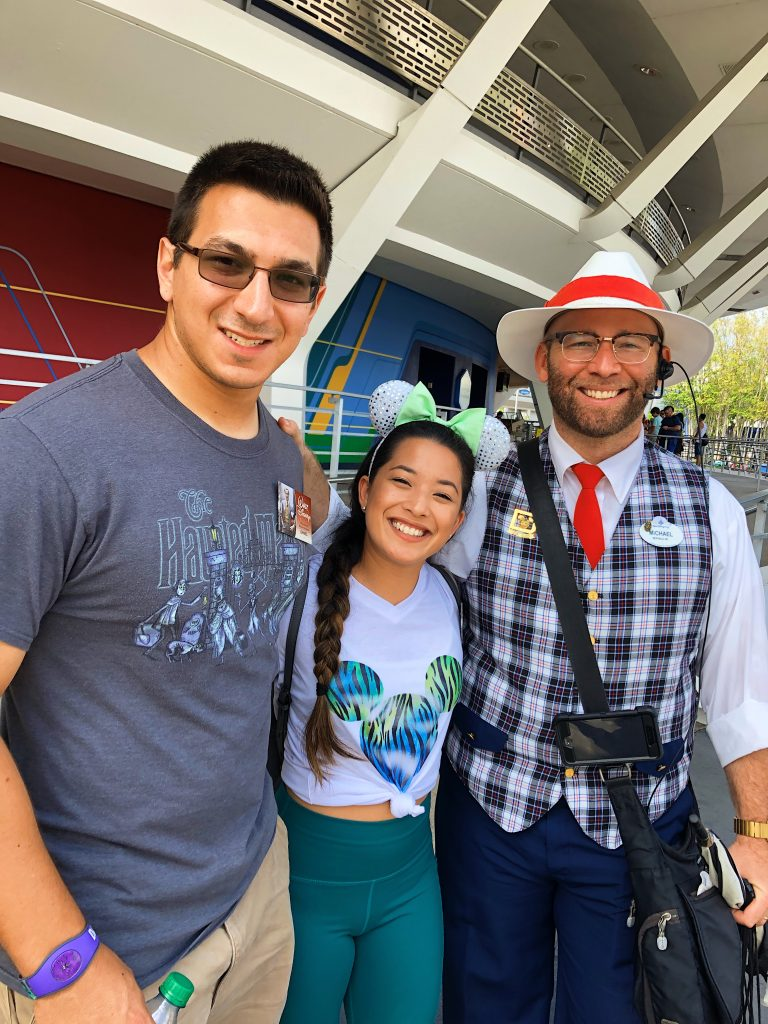 Photo with Disney Tour Guide