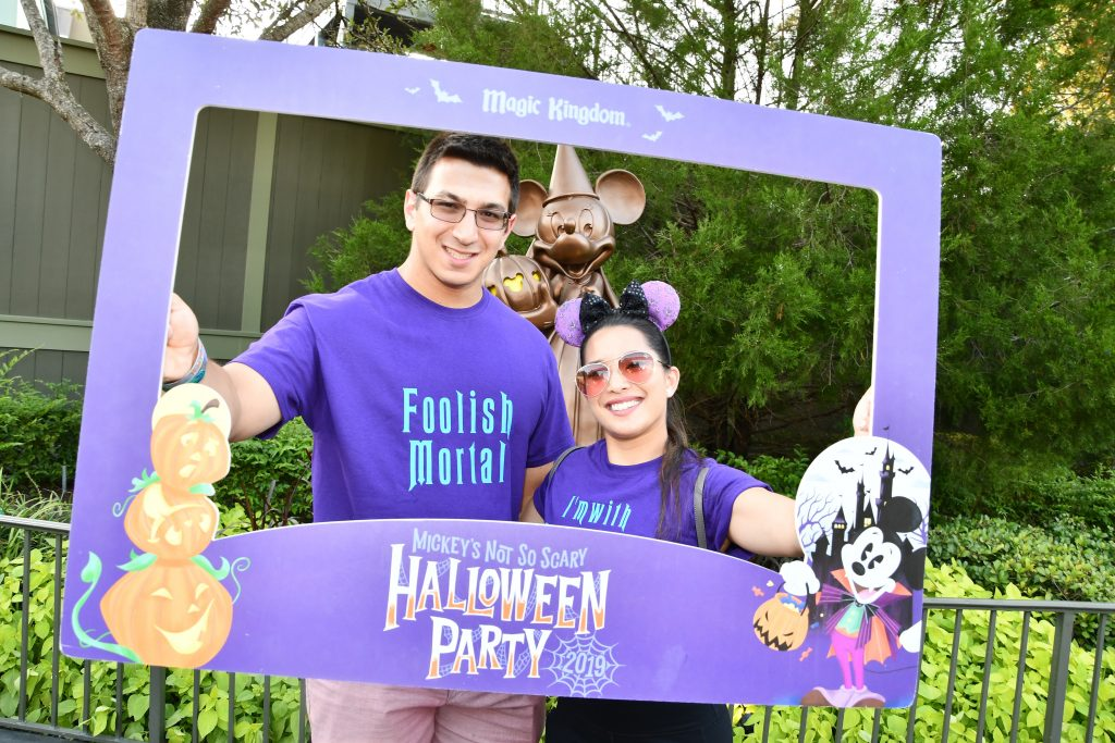 Mickey's Not So Scary Halloween Party Photoframe
