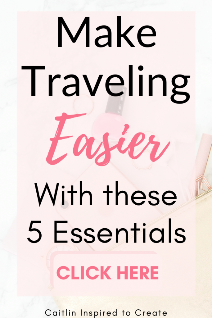 5 Travel Essentials for Easy Travel